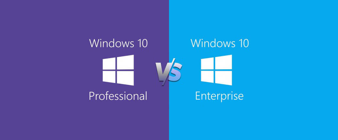Windows 10 Professional vs. Enterprise features – what's the difference?