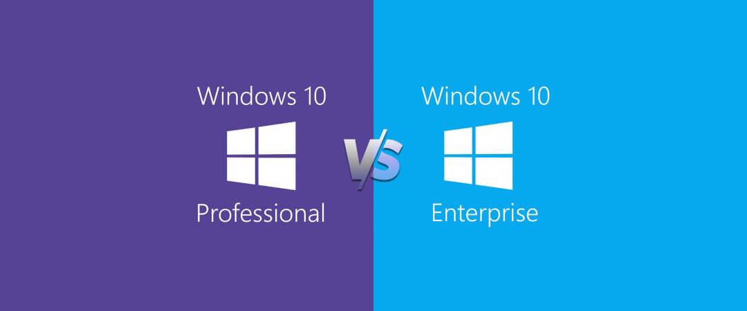 Functies van Windows 10 Professional versus Enterprise – wat is het verschil?
