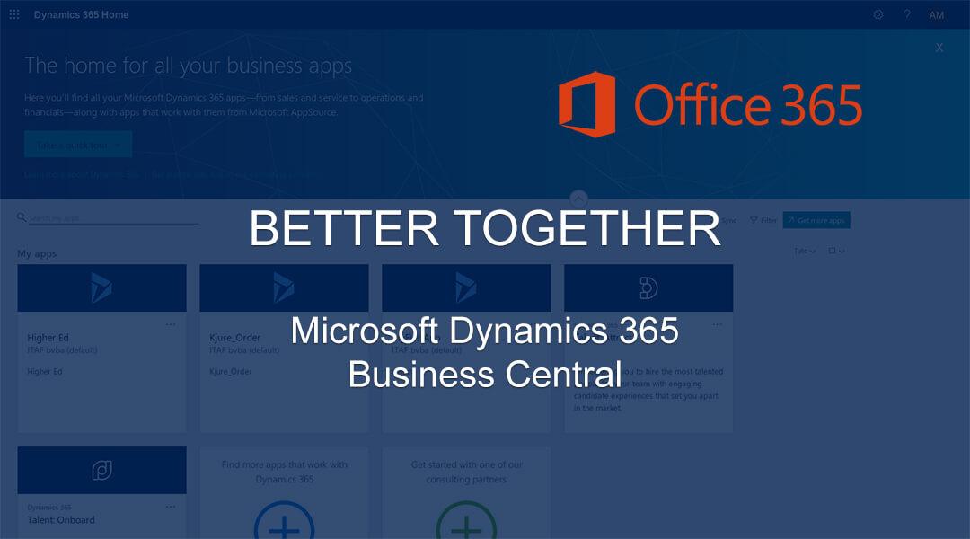 Hoe Dynamics 365 Business Central-integratie met Office 365 beheren?