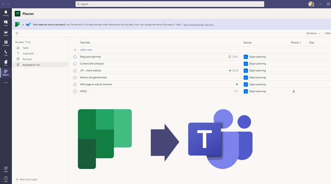 Tasks app in Microsoft Teams – Manage Tasks in One Place