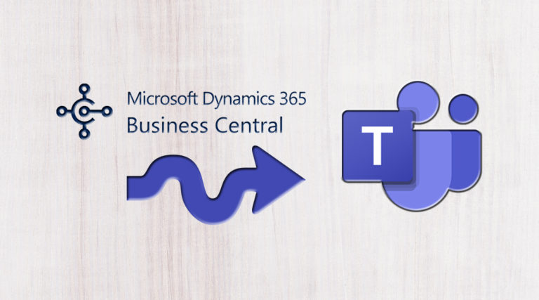 Business Central integration with Microsoft Teams