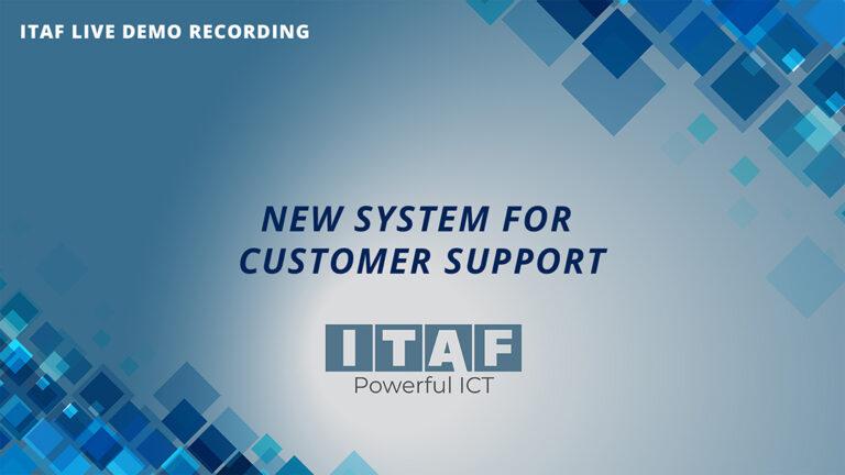 itaf live demo recording